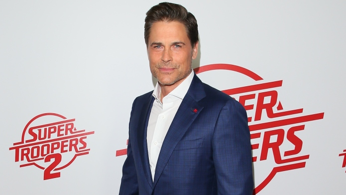 Rob Lowe attends the premiere of