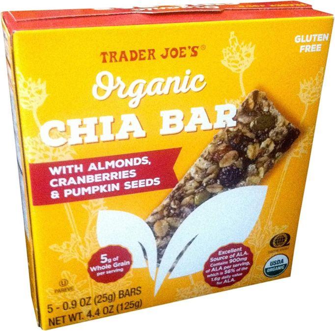 Organic Chia Bars