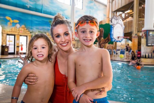 Candice Romo for Kalahari Resorts and Conventions