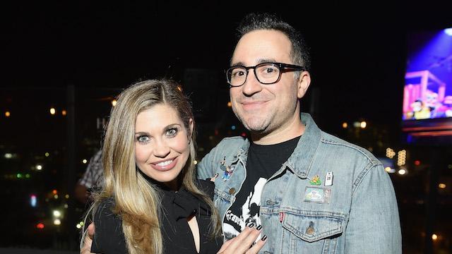 photo of Danielle Fishel and Jensen Karp