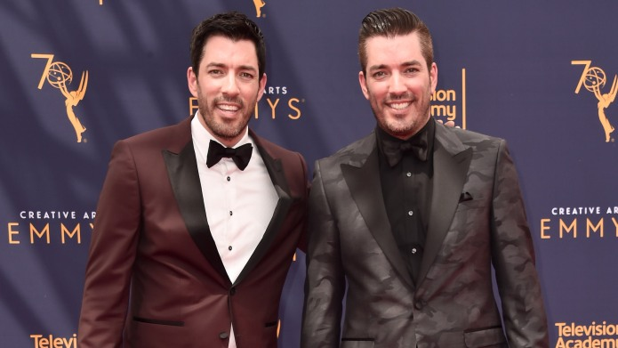 Drew Scott and Jonathan Scott attend
