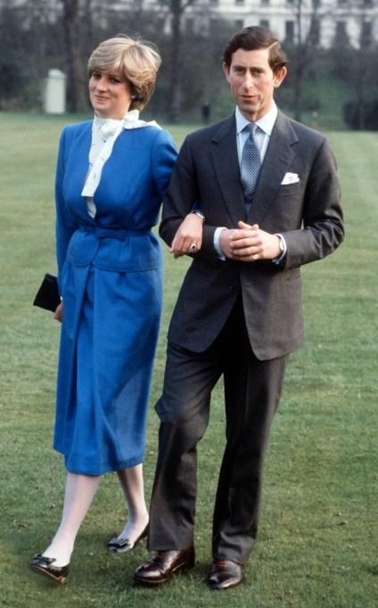 Princess Diana with Prince Charles