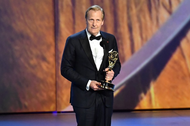 Photo of Jeff Daniels at the 2018 Emmys