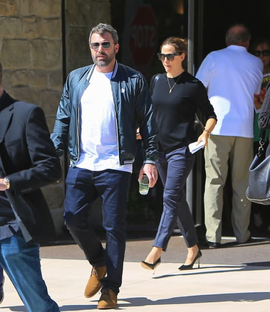 Photo of Ben Affleck and Jennifer Garner out together on Sept. 30 in Los Angeles