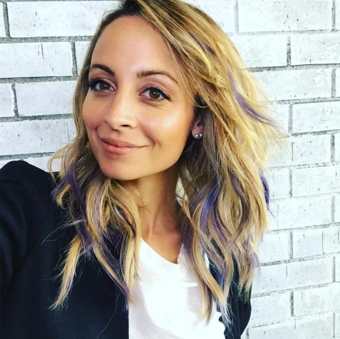 Nicole Richie: Lavender Highlights
