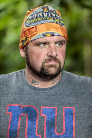Photo of Pat Cusack on Survivor season 37