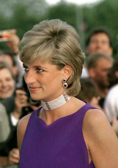 Princess Diana Wearing Chunky Jewelry