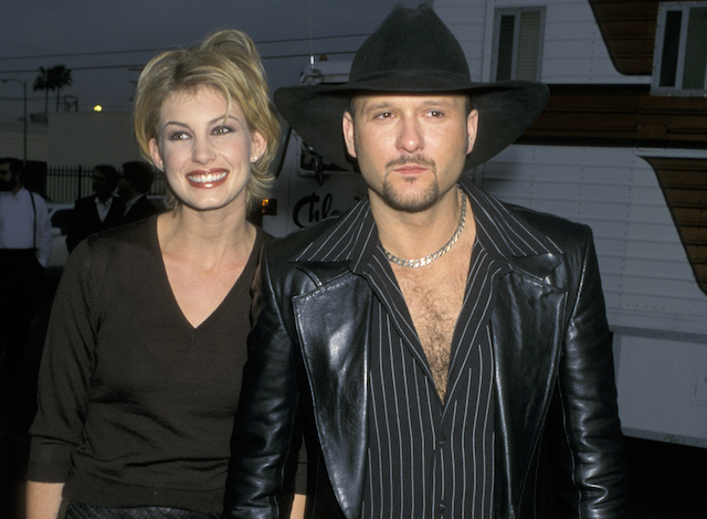Tim McGraw & Faith Hill at the 25th Annual American Music Awards