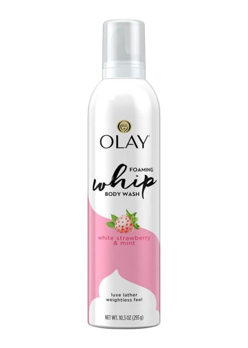Olay Foaming Whip White Strawberry & Mint Body Wash