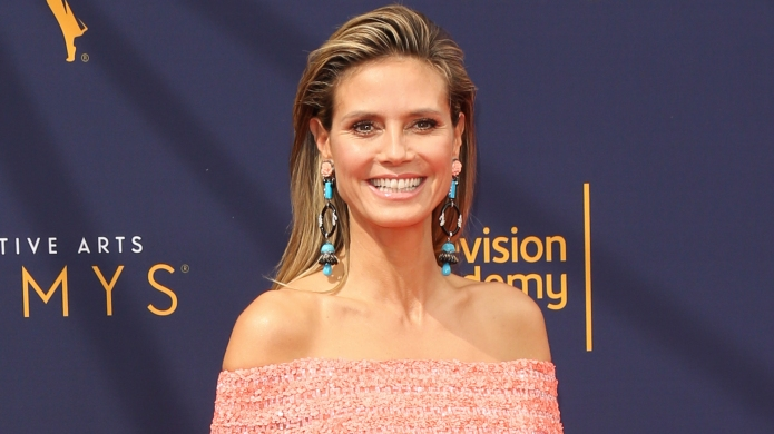Heidi Klum attends the 2018 Creative