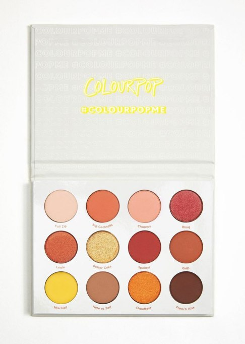 Colourpop Yes, Please! Pressed Powder Shadow Palette