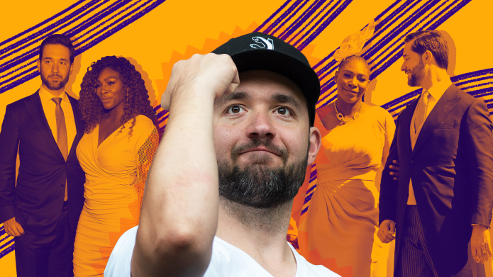 SheKnows treated collage of Alexis Ohanian