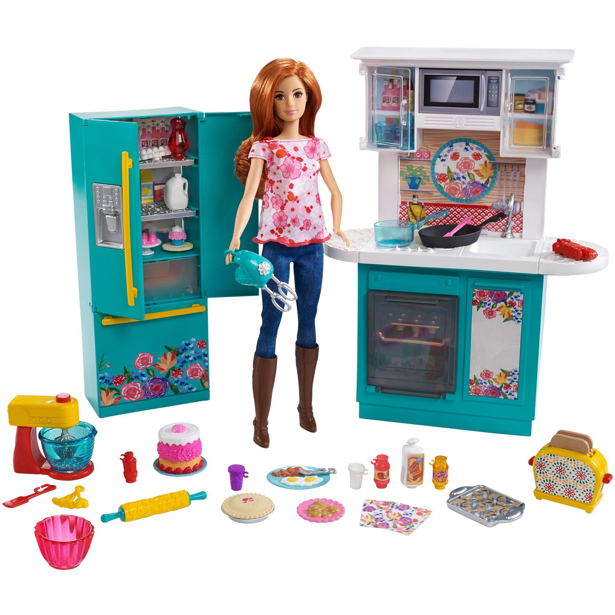 Ree Drummond Barbie kitchen set