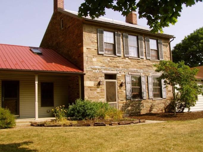 Historic Civil War Farm House in Gettysburg, Pennsylvania.