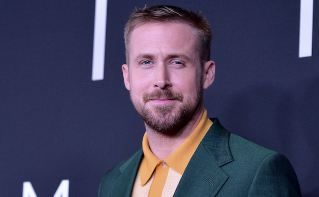 Ryan Gosling attends the 'First Man' premiere at the National Air and Space Museum on October 4, 2018 in Washington, DC