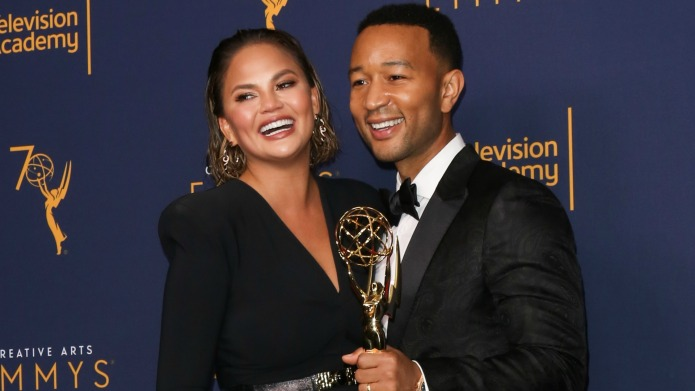 Chrissy Teigen And John Legend Share