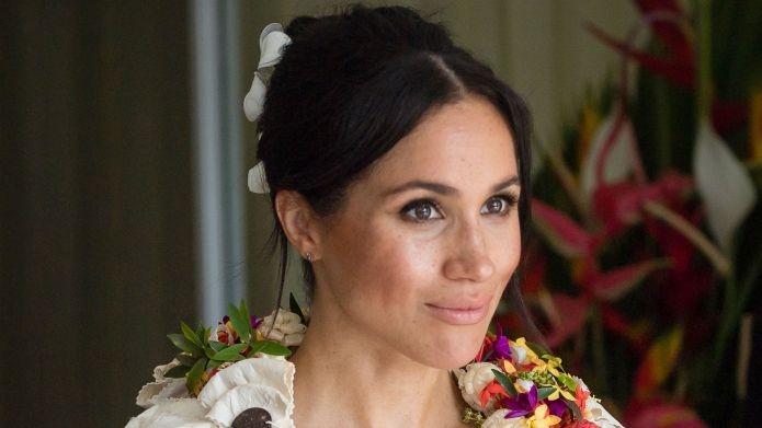 Photo of Meghan Markle in Fiji