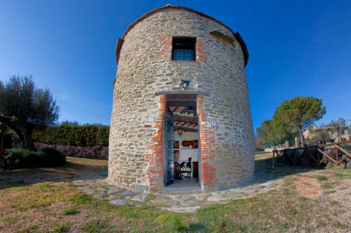 Old Tower in Umbria, Italy