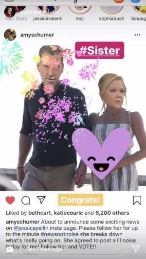 Jessica Yellin Instagram Story photo 2