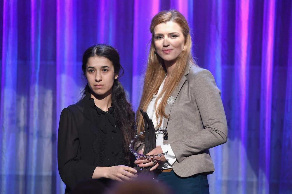 Nadia Murad Clinton award