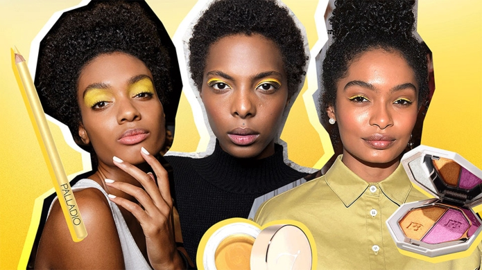 Yellow Makeup Inspiration for Brown Skin