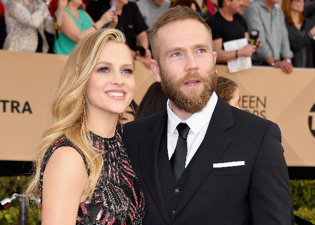 Teresa Palmer and Mark Webber attend the 23rd Annual Screen Actors Guild Awards