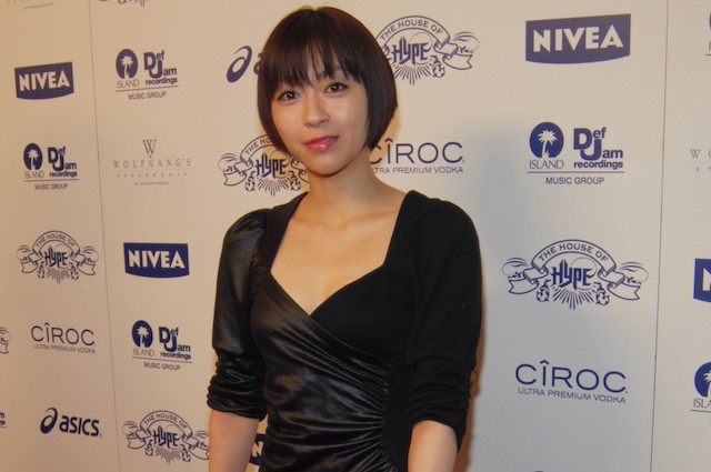 "Utada Hikaru attends Island Def Jam and House of Hype Celebrate Antonio ""L.A."" Reid's Annual Post Grammy Soiree"