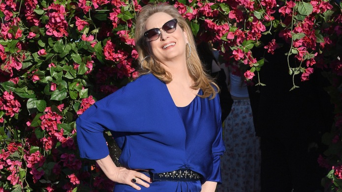 Meryl Streep attending the premiere of