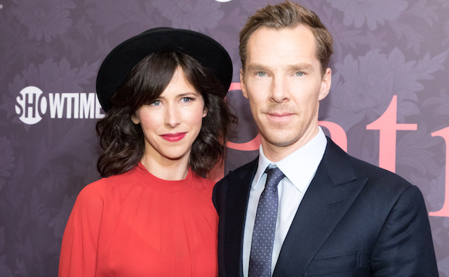 Sophie Hunter and Benedict Cumberbatch attend the 'Patrick Melrose' Series Premiere at Linwood Dunn Theater