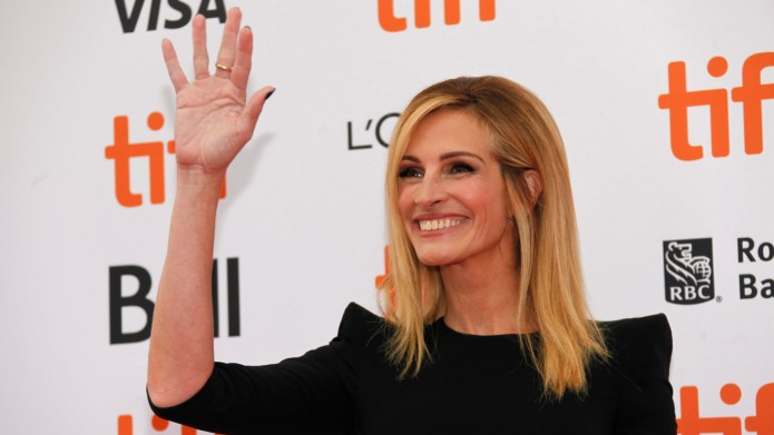 Julia Roberts attends the premiere of