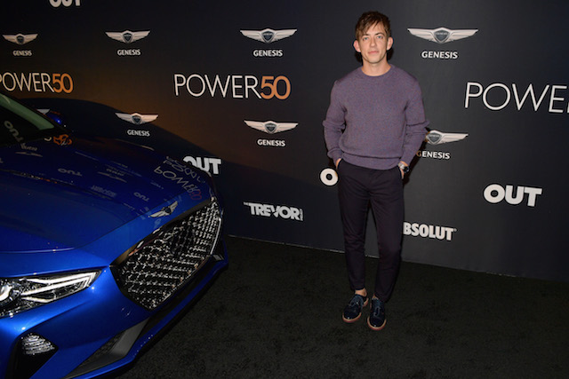 Kevin McHale attends OUT Magazine's Power 50 Celebration