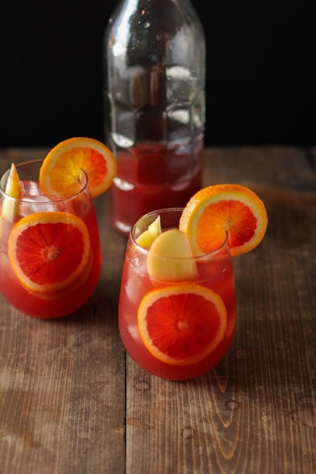 Pomegranate Blood Orange Sangria