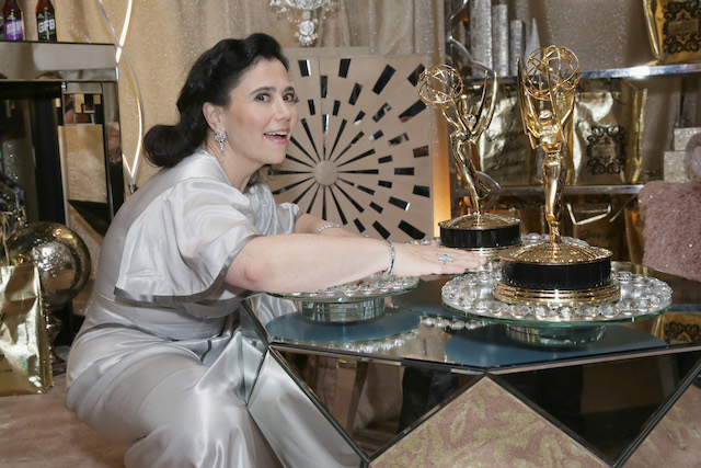 Alex Borstein attends Backstage Creations Giving Suite At The 70th Emmy Awards at Microsoft Theater