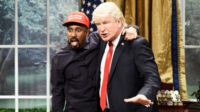 Chris Redd and Alec Baldwin impersonate