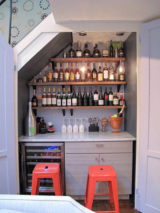 Wine Bar Closet