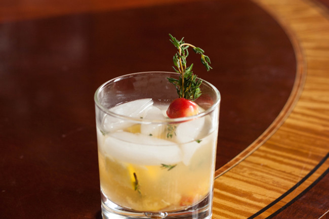 Rainier Cherry New Fashioned