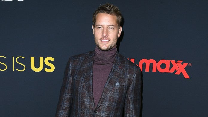 Justin Hartley arrives at the Premiere