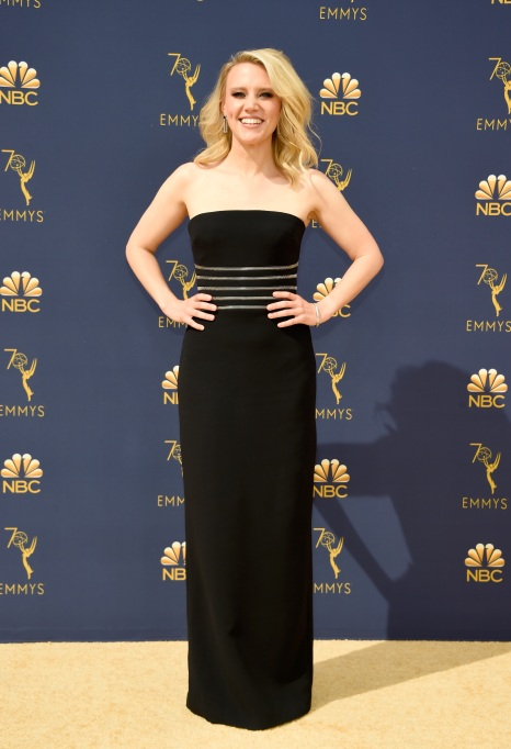 Kate McKinnon attends the 70th Emmy Awards at Microsoft Theater