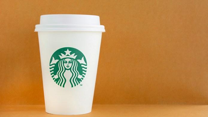 photo of starbucks cups