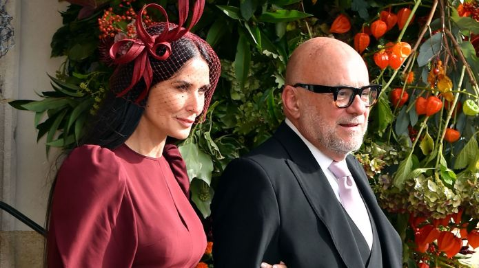 Demi Moore and Eric Buterbaugh after