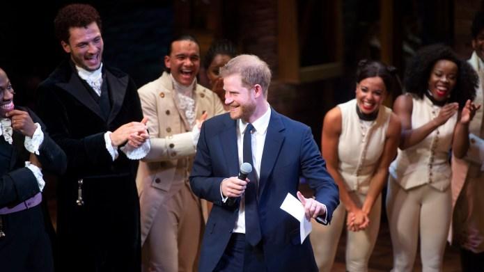 Prince Harry, Duke of Sussex speaks