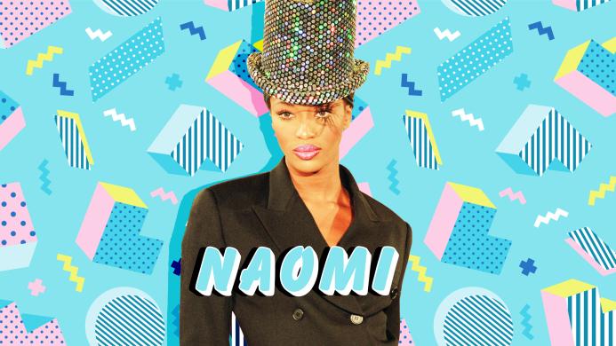 Naomi Campbell - Names 90s Kids