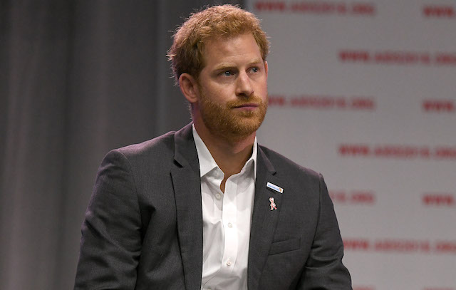 Prince Harry, Duke of Sussex attends the Launch of the Menstar Coalition To Promote HIV Testing & Treatment of Men