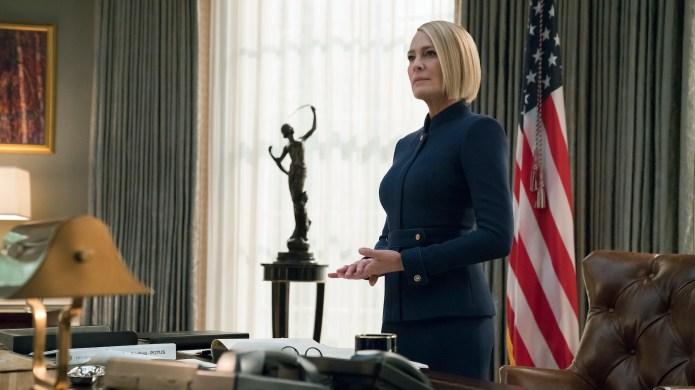 Still of President Claire Underwood (Robin