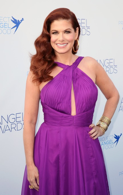 Debra Messing attends Project Angel Food's 28th Annual Angel Awards at Project Angel Food on August 18, 2018