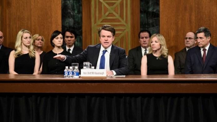 Matt Damon stars as Supreme Court