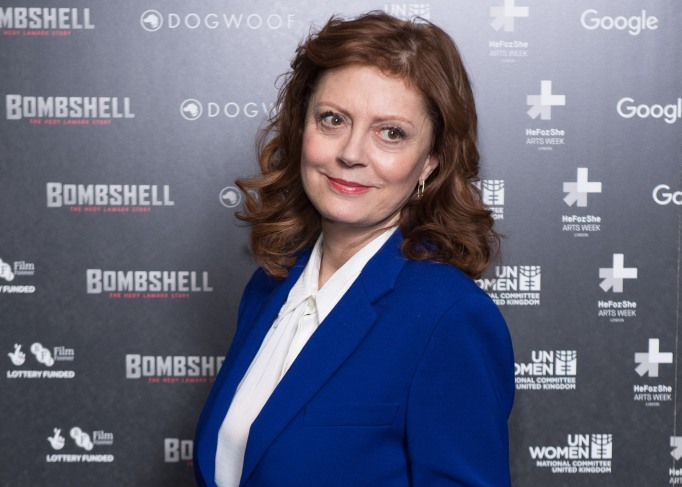 Susan Sarandon attends a special screening of Bombshell: The Hedy Lamarr Story at BFI Southbank