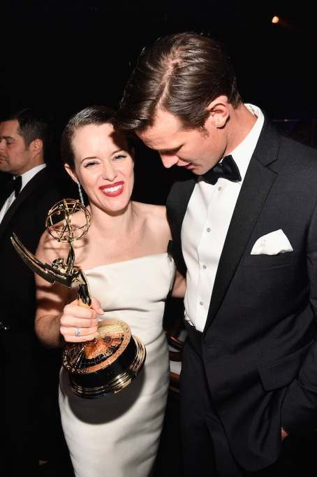 Claire Foy and Matt Smith attend the 70th Emmy Awards Governors Ball at Microsoft Theater