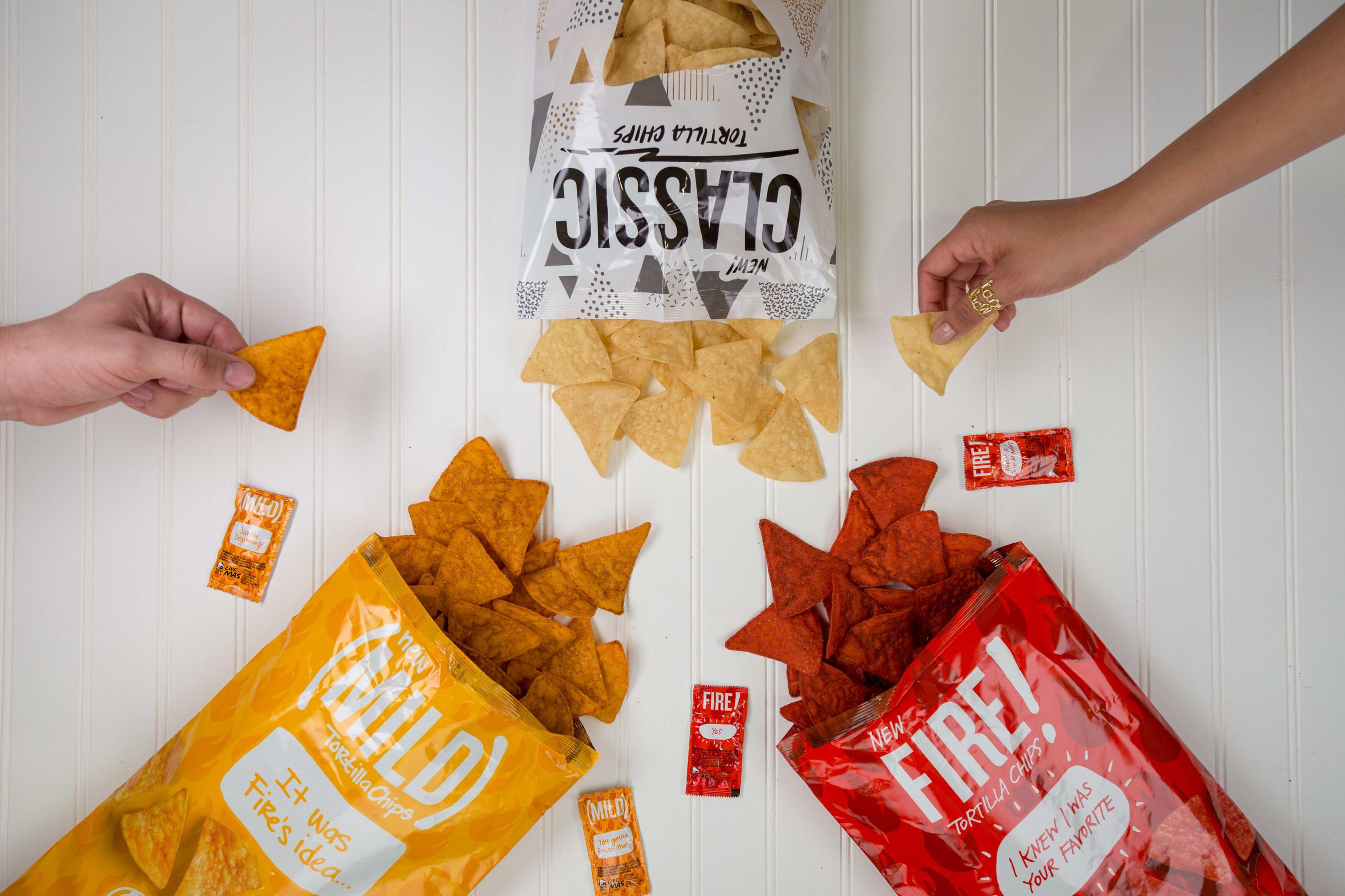 Taco Bell tortilla chips flavors
