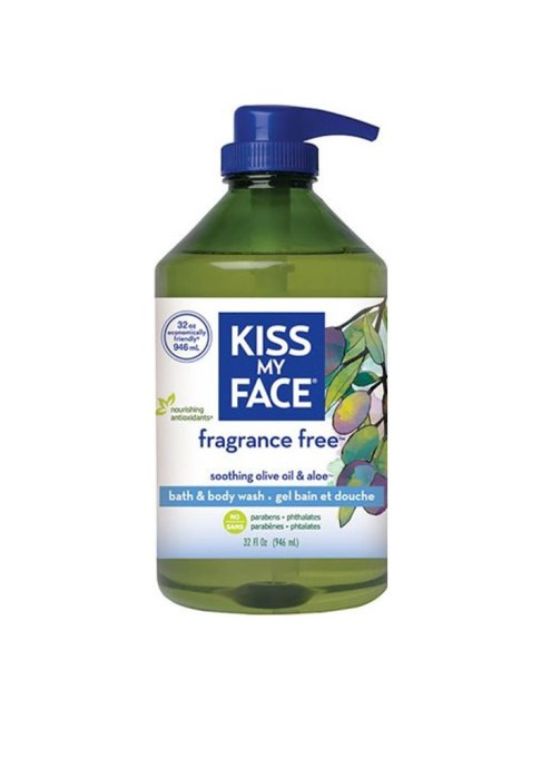 Kiss My Face Soothing Olive Oil & Aloe Body Wash